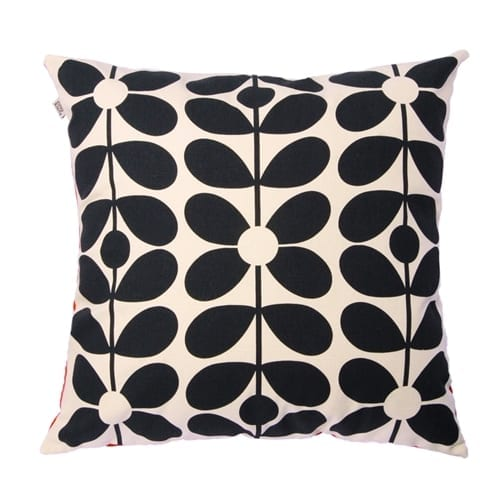 Orla Kiely 60s Stem Cushion | Poppy and Blue