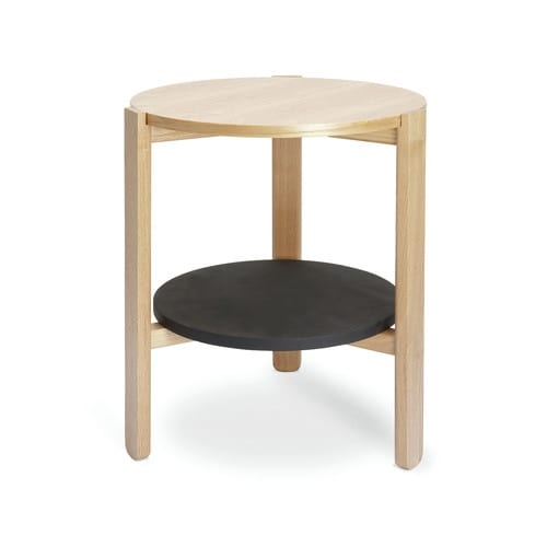 Umbra Hub Side Table - Black / Natural