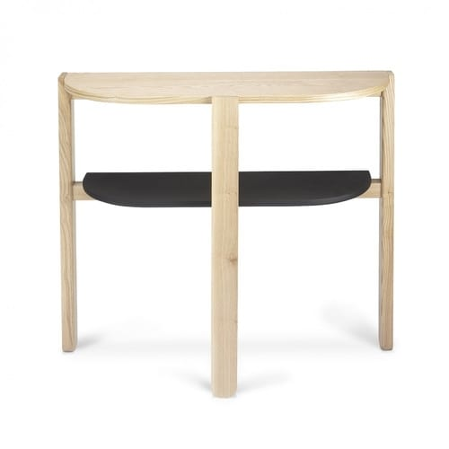 Umbra Hub Console Table | Black & Natural