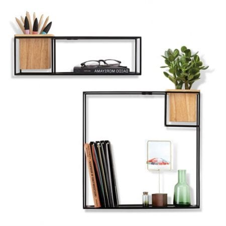 Umbra Cubist Wall Display Small