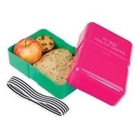 Happy Jackson Lunch Box Pink Green