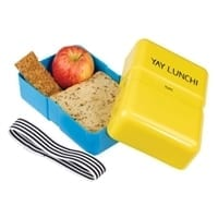 Happy Jackson Lunch Box | Yellow & Blue
