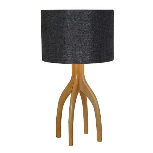 Grigg Table Lamp Grey Cloud | Linen Shade