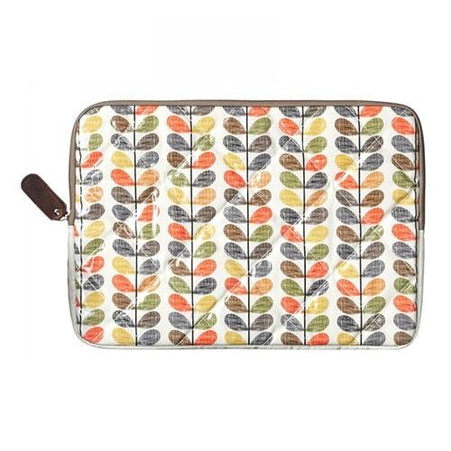 Orla Kiely Laptop Cover Sleeve Multi Stem 15 inch