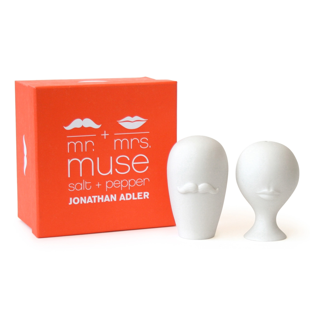 Mr and Mrs Muse Salt and Pepper Shakers Jonathan Adler