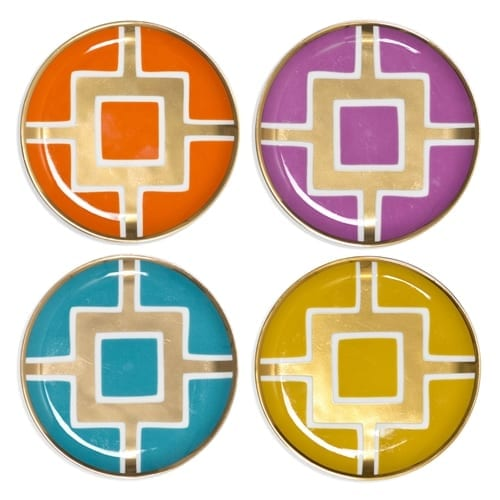 Jonathan Adler Nixon Coasters Set of 4