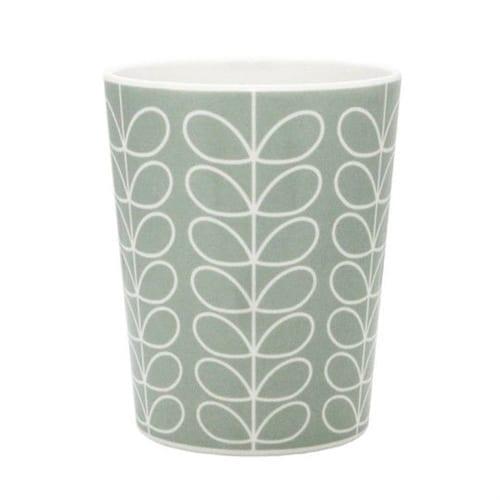 Orla Kiely Melamine Cup / Tumbler | Mint