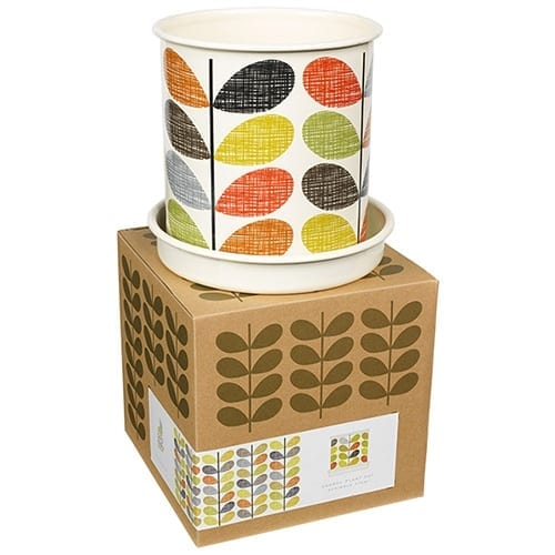 Orla Kiely Planter Pot | Scribble Stem | Large
