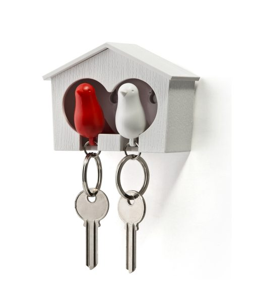 Qualy Sparrow Key Ring and Holder