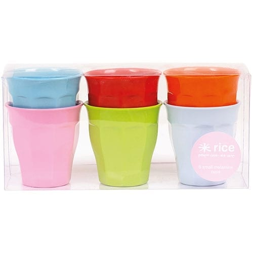 Rice Melamine Cup Set | Small | Bright