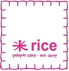 Rice Melamine Plate Rectangle | Casablanca Red