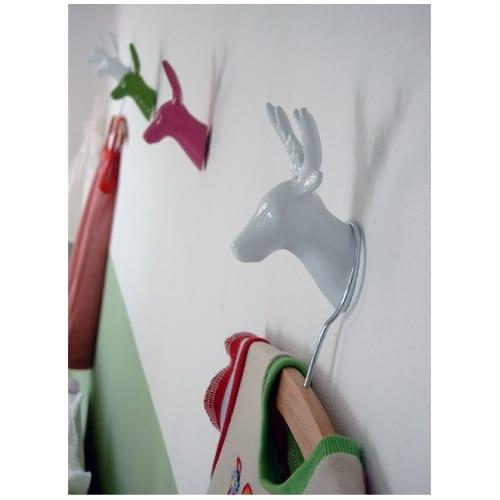 Deer Wall | Coat Hook - White